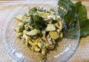 Салат из свекольных листьев — простой рецепт