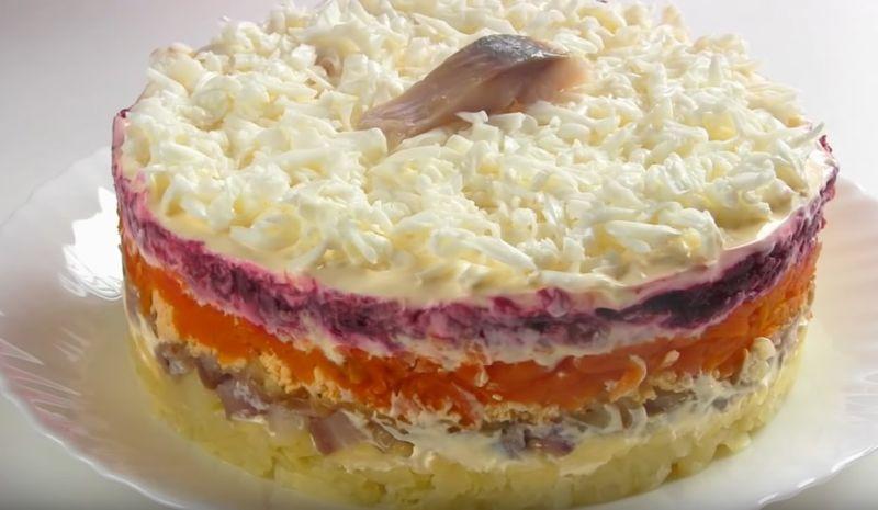 Селедка под шубой — классические рецепты + слои по порядку
